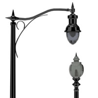decorative street light 3d 3ds