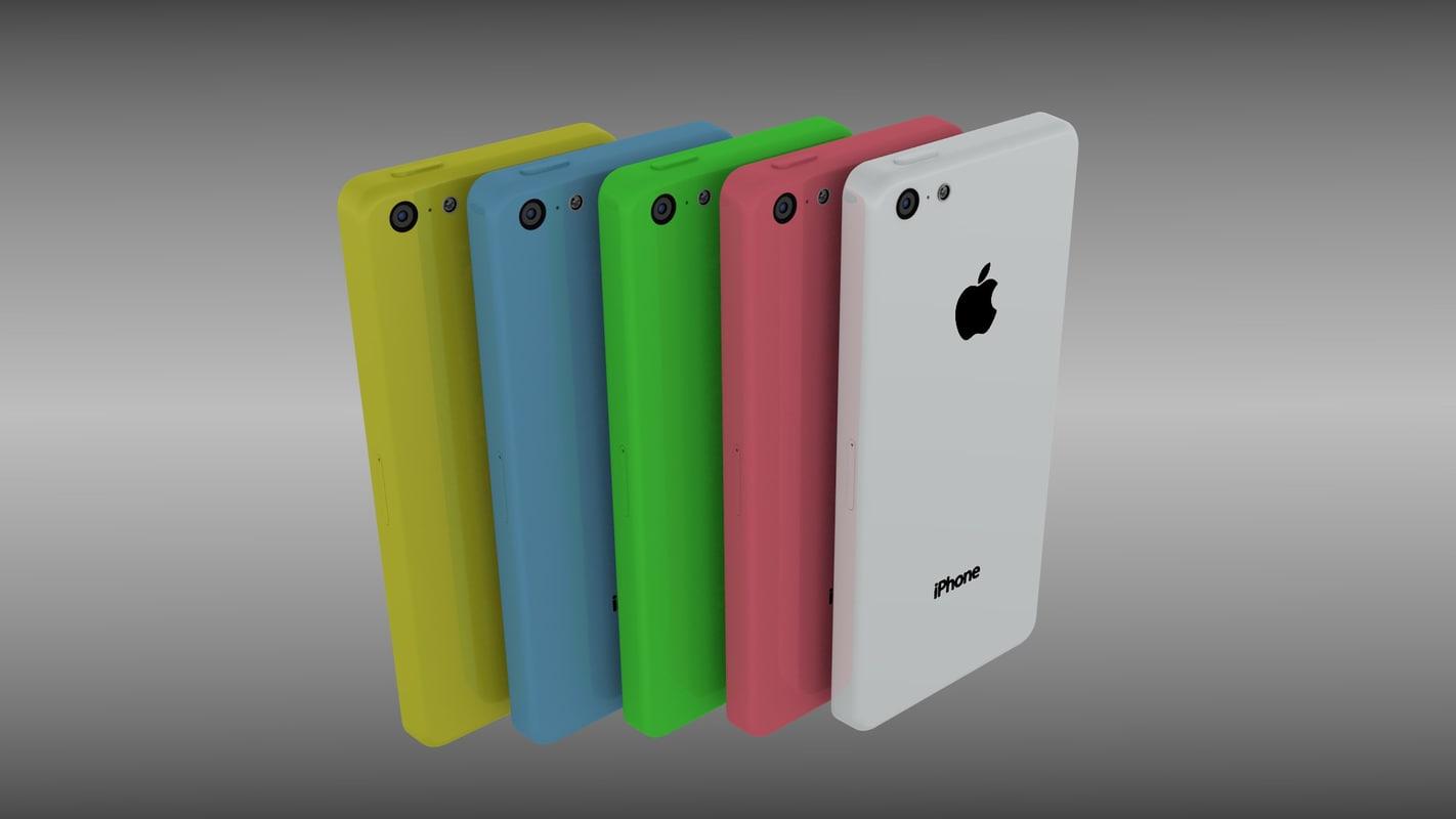 new iphone 5c obj