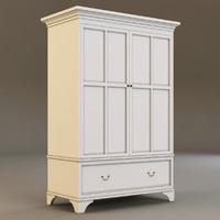 laura ashley cabinet 3d model