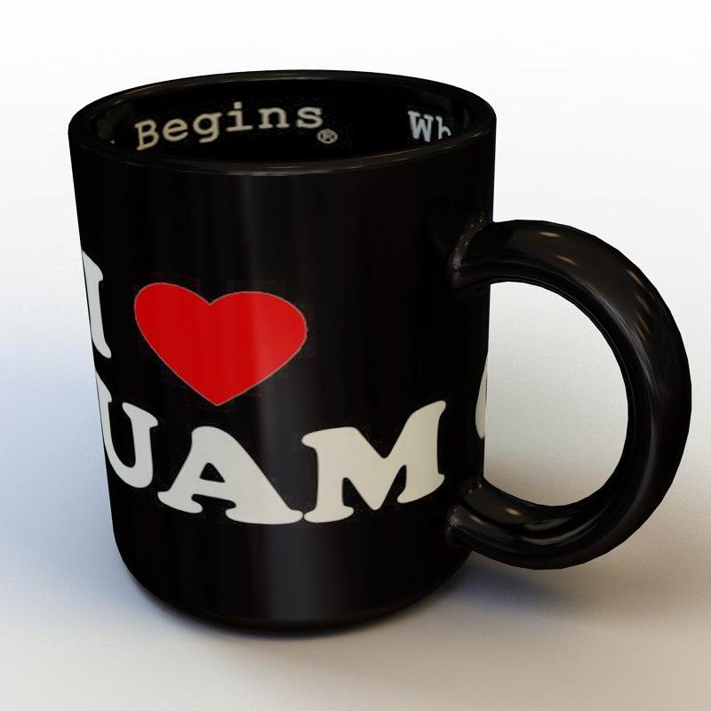 mug 01 3d max