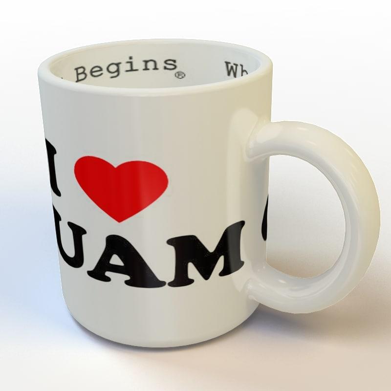 mug 02 3d model