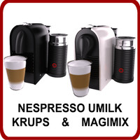 Nespresso UMilk Krups and Magimix