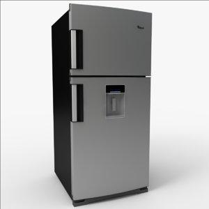 refrigerador 3d model