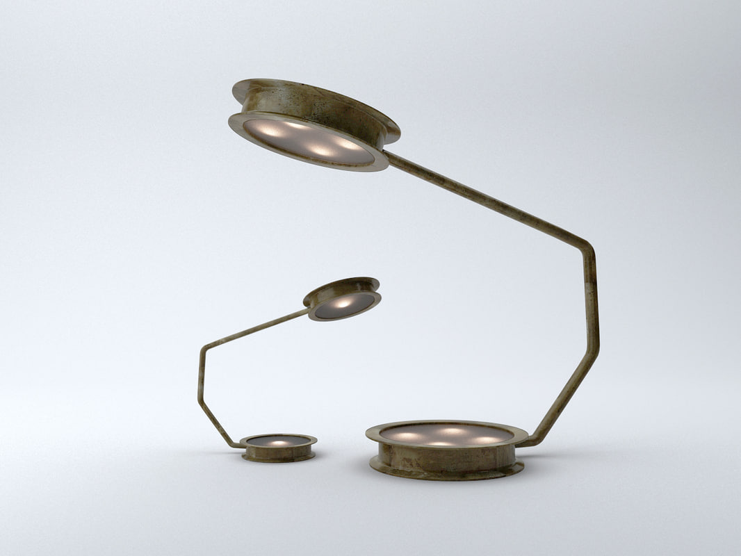 ceccotti glow lamps light 3d max