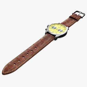 luxury watch obj