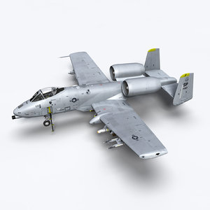 3ds max a-10c warthog a10