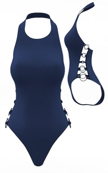 swimsuit cloth simulations 3d ma