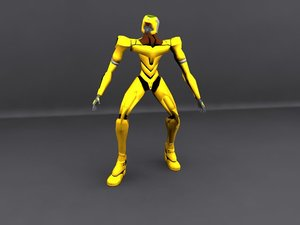 3dsmax evangelion character