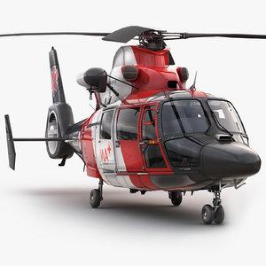 3dsmax eurocopter 365 medical