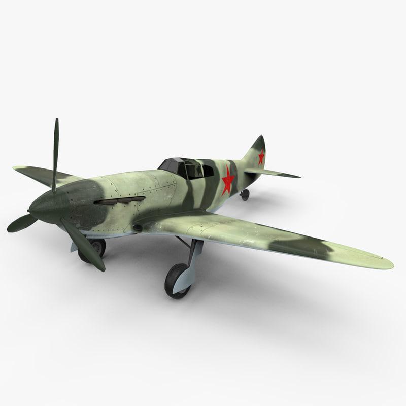 3ds max lagg-3 aircraft world