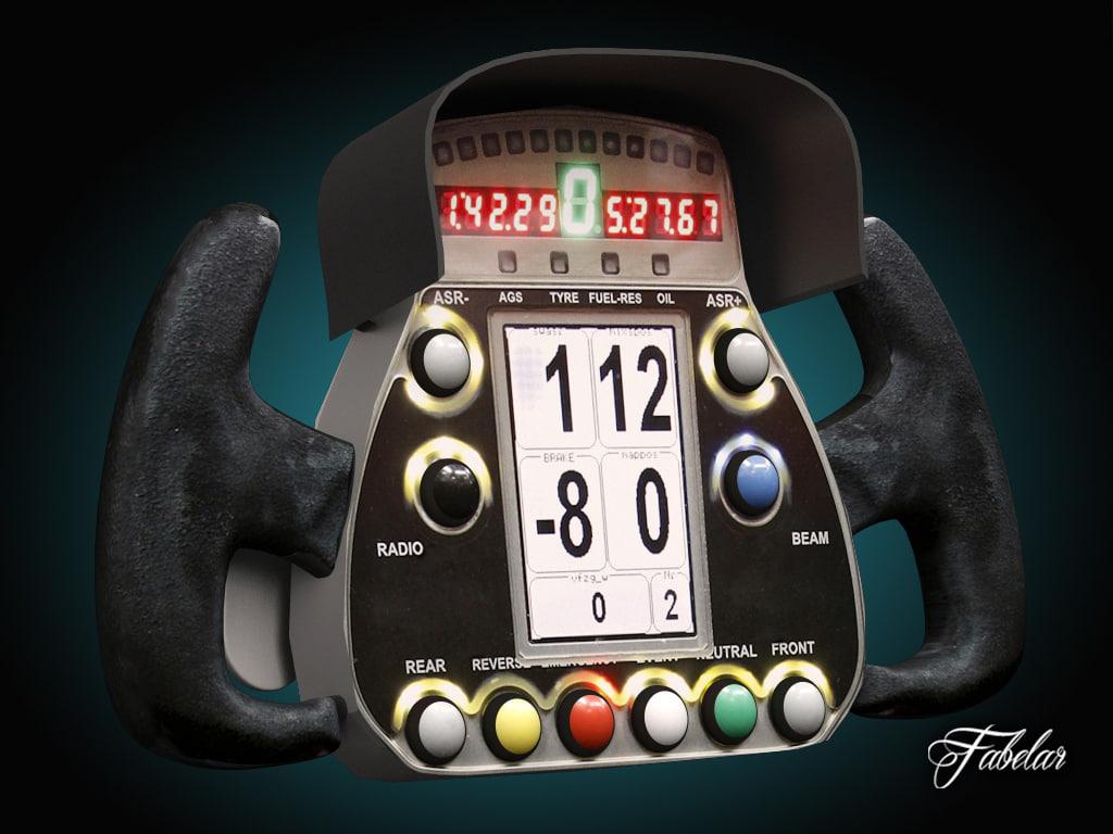 racing steering wheel 3ds