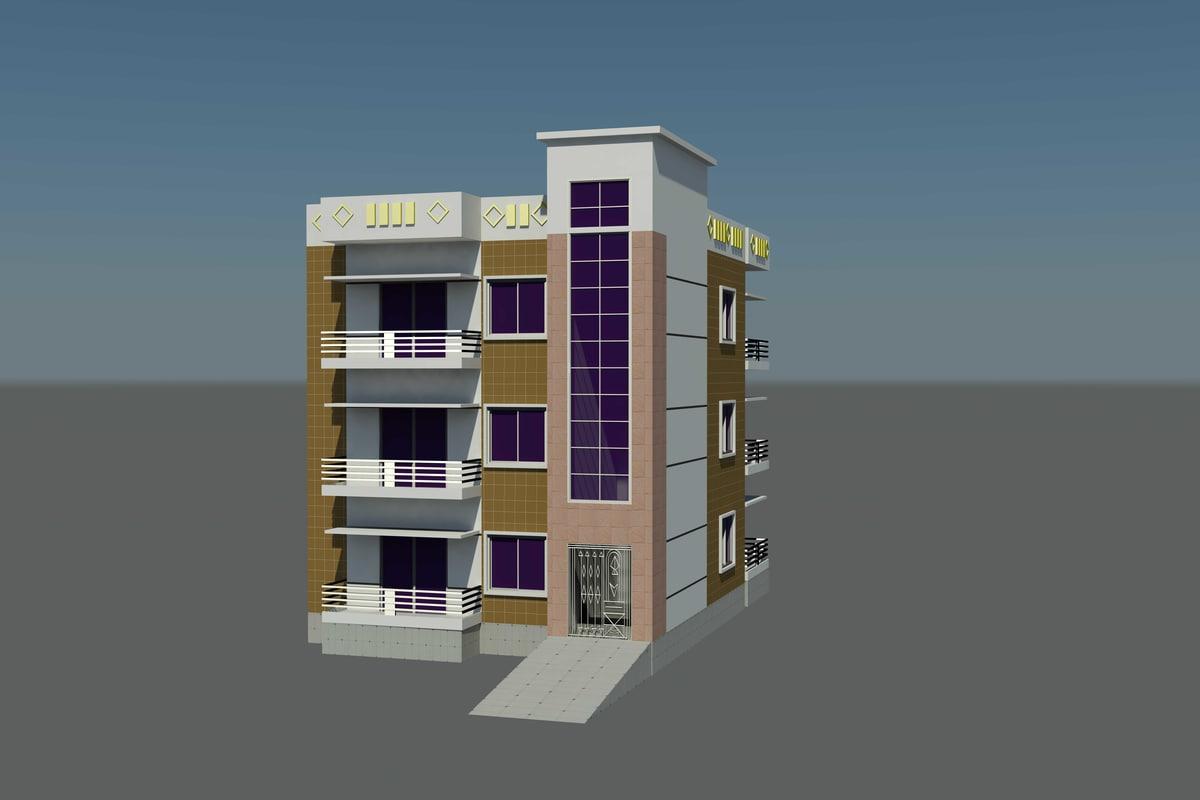 3d max storied building