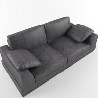 3d model natuzzi sofas