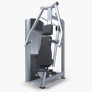 trainer chest press max