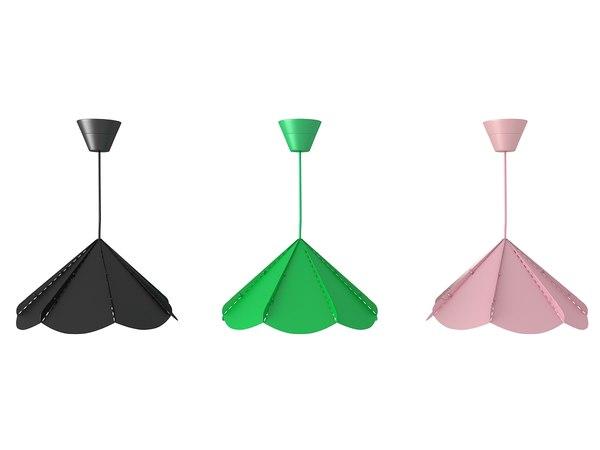 3d model lamp dining light