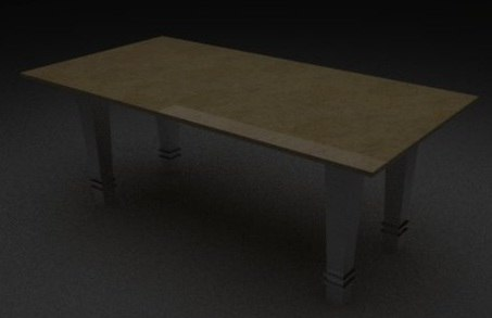 3ds stainless dining table