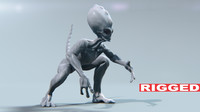 Alien - rigged