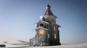 dxf trinity church antarctica
