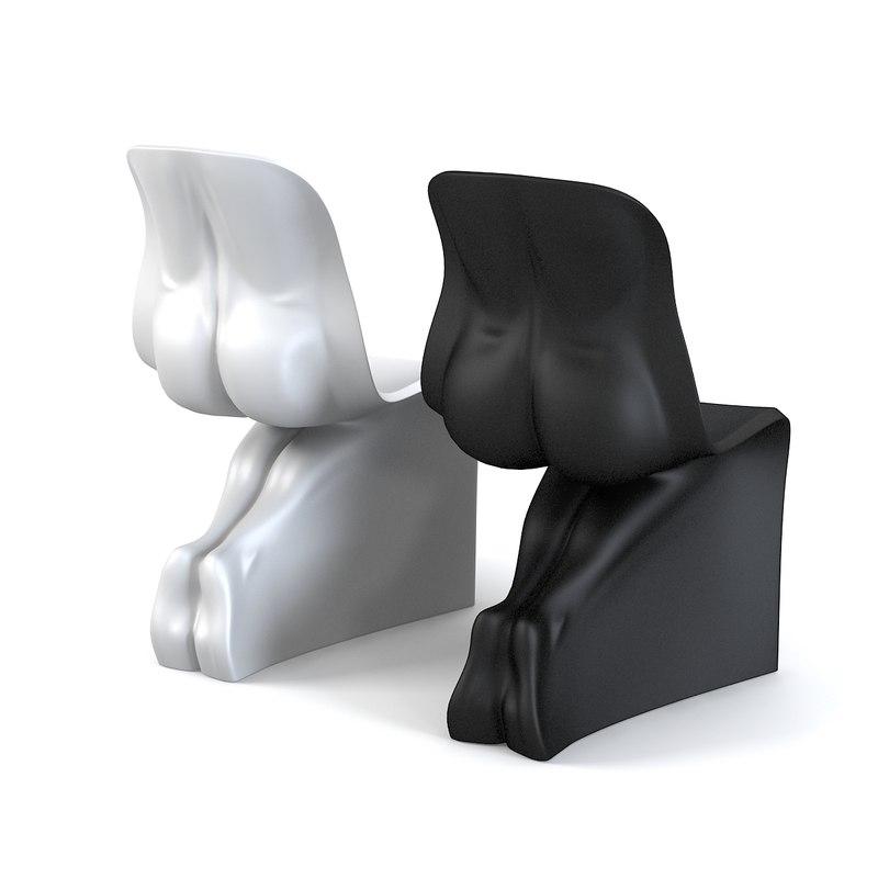 casamania chair set 3d 3ds