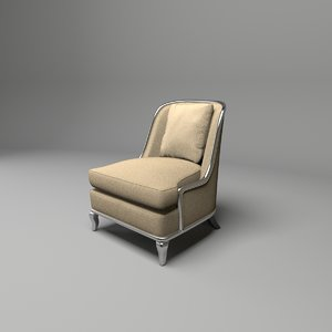 traditional armchair empress baker fbx