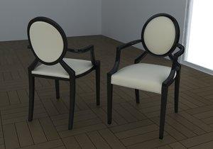 chair louis ghost max