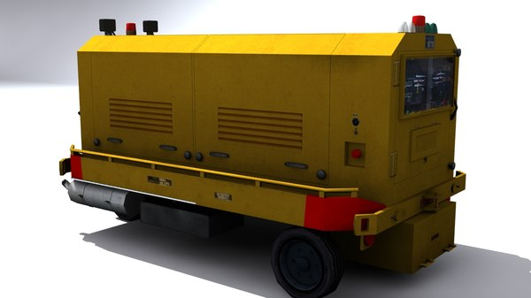 ground unit power 3d model