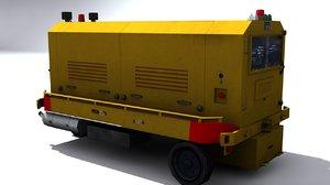 ground unit power 3d model