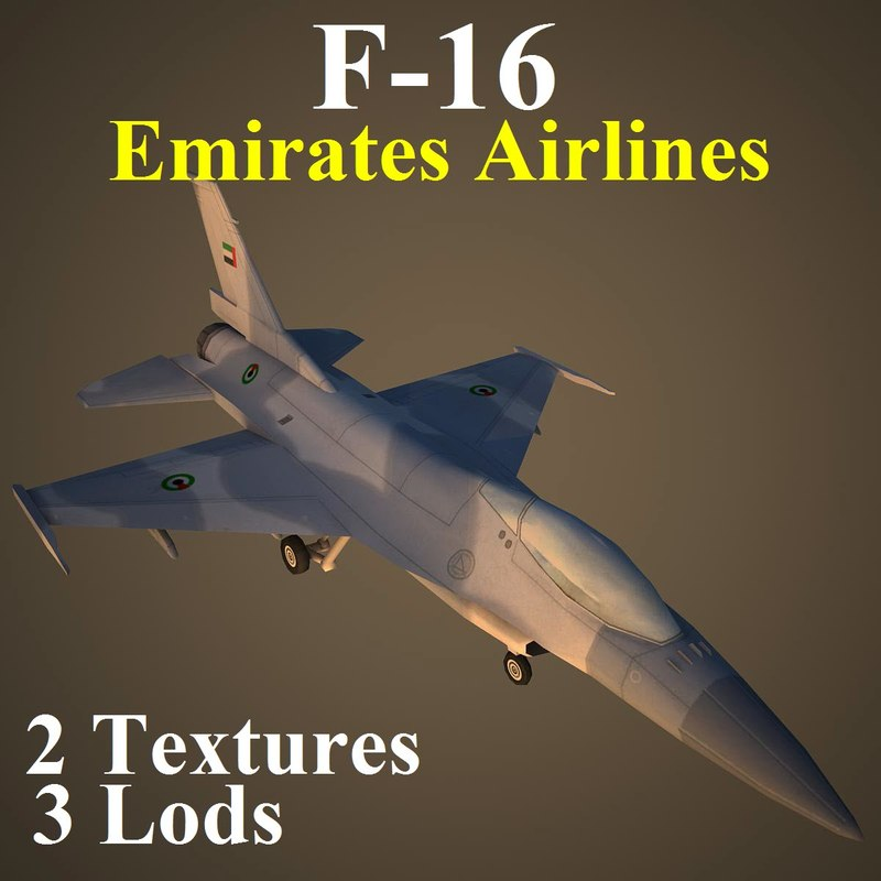 general dynamics airlines uae 3d max