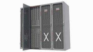 3d model oracle - server cluster