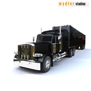 3d model 389 trailer