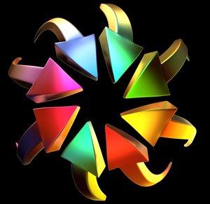 maya colored arrows