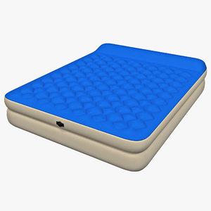 max vinyl air bed queen
