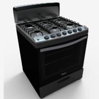 3d stove estufa model