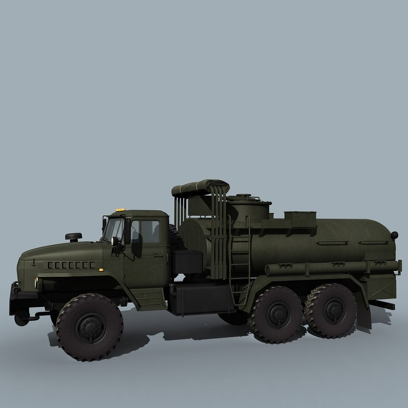 3ds russian army atz-7 ural-4320