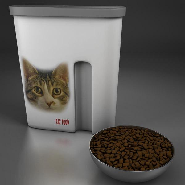 3dsmax cat food