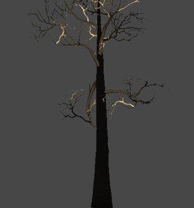 maya pack trees plants