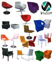 modern armchairs max