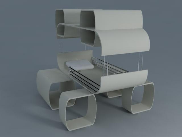 3d model sofa home