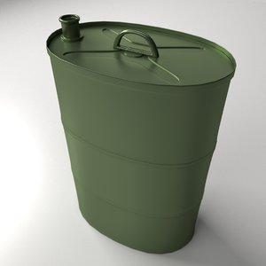 portable oil tank 3d 3ds