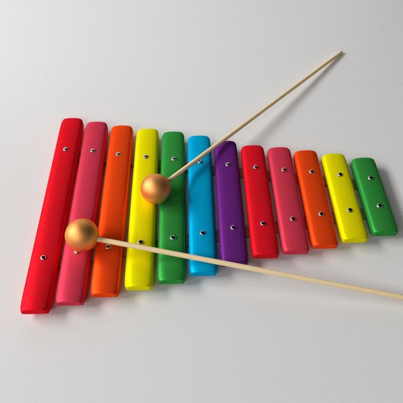 3d xylophone