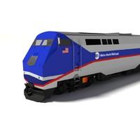 maya metro-north train locomotive p32