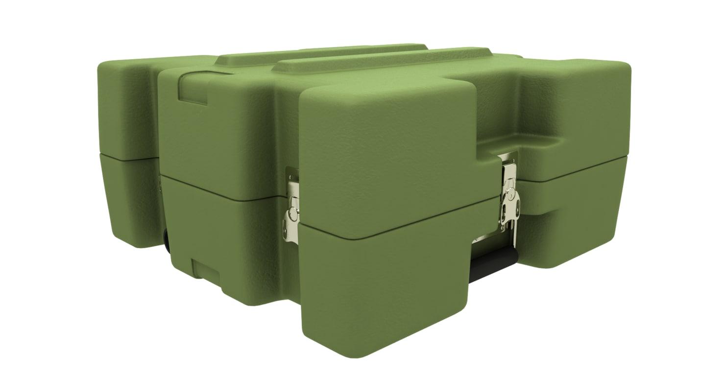 obj green roto case