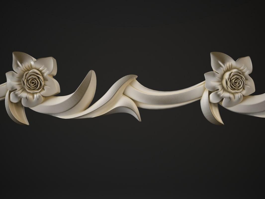 3d molding model