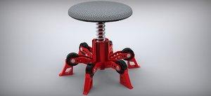 chair 3d 3dm