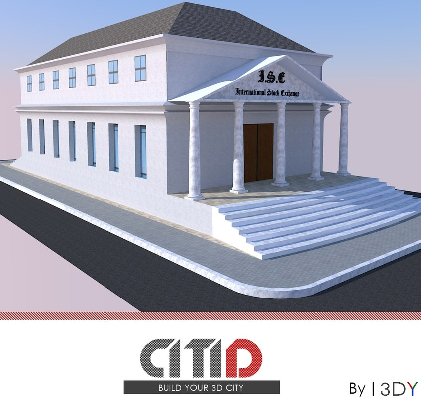 citid office buildings stock dwg