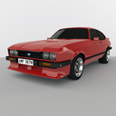 Ford capri 3D models
