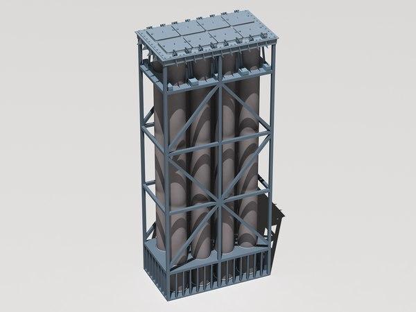 3d model novator club-n missile