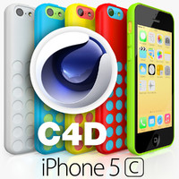 Apple iPhone 5C CINEMA 4D