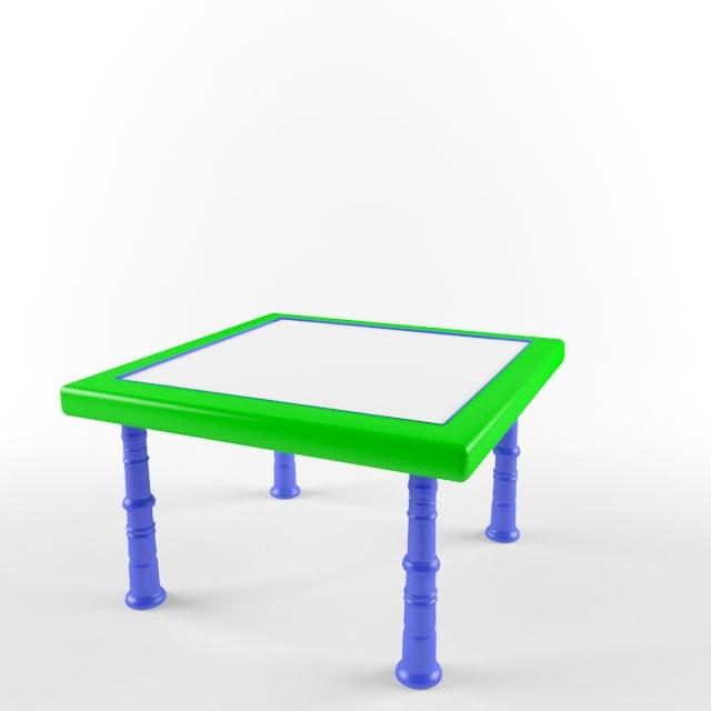 3d model children table