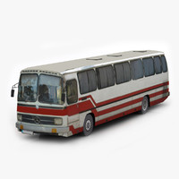 mercedes benz 0 302 3d model